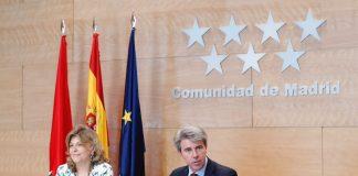 Ángel Garrido durante el Consejo de Gobierno